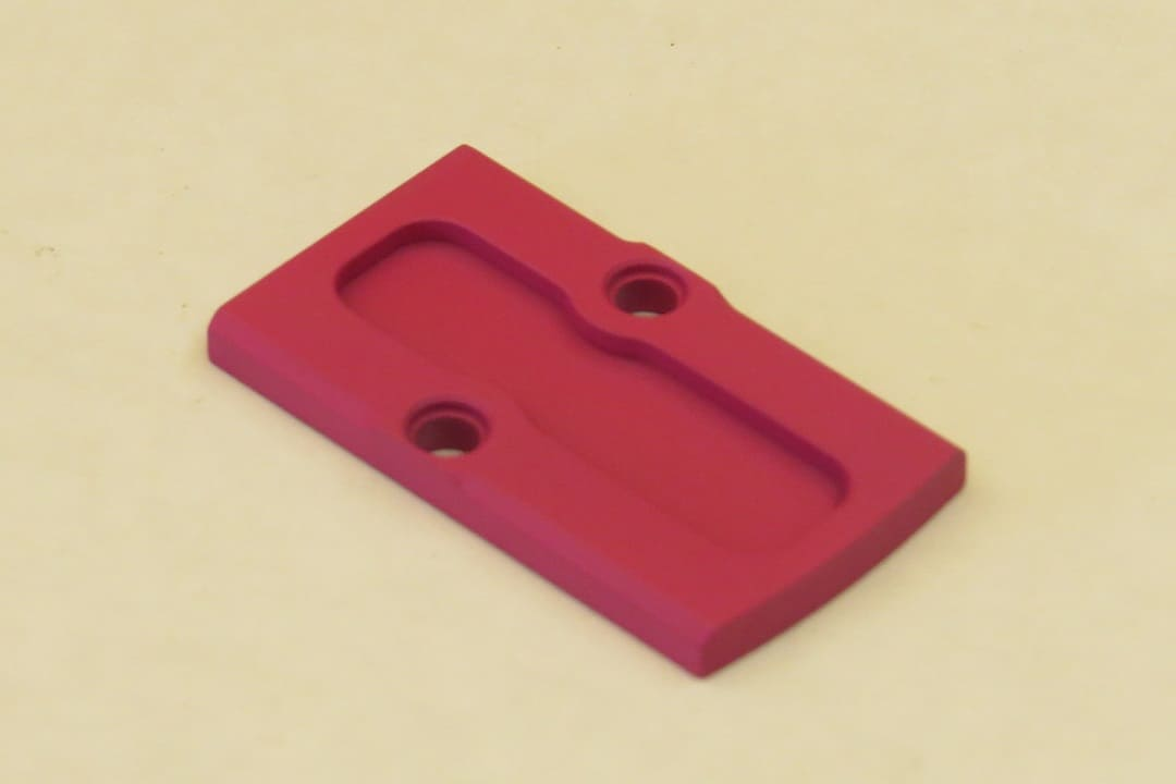 Rock Slide USA RMR Cover Plate Pink